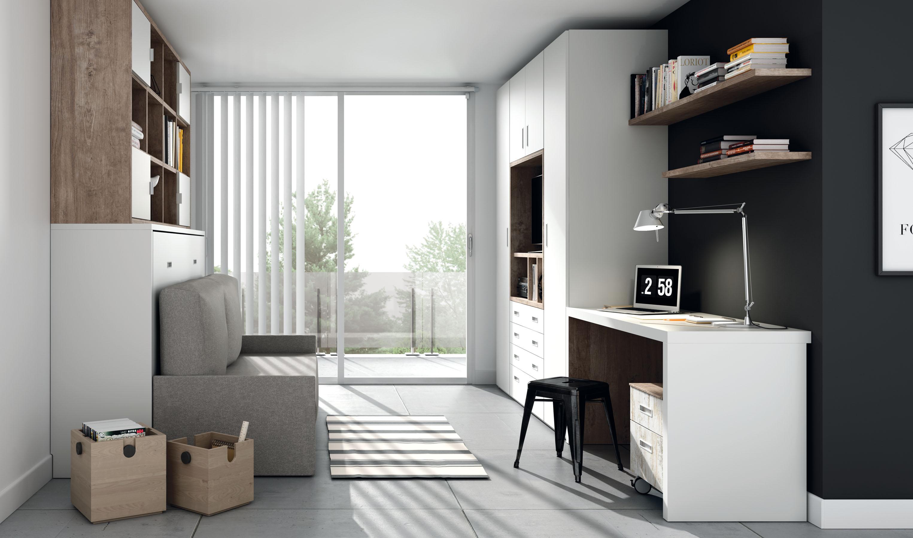 Camas abatibles horizontales con sofa camas abatibles for Sillon cama juvenil