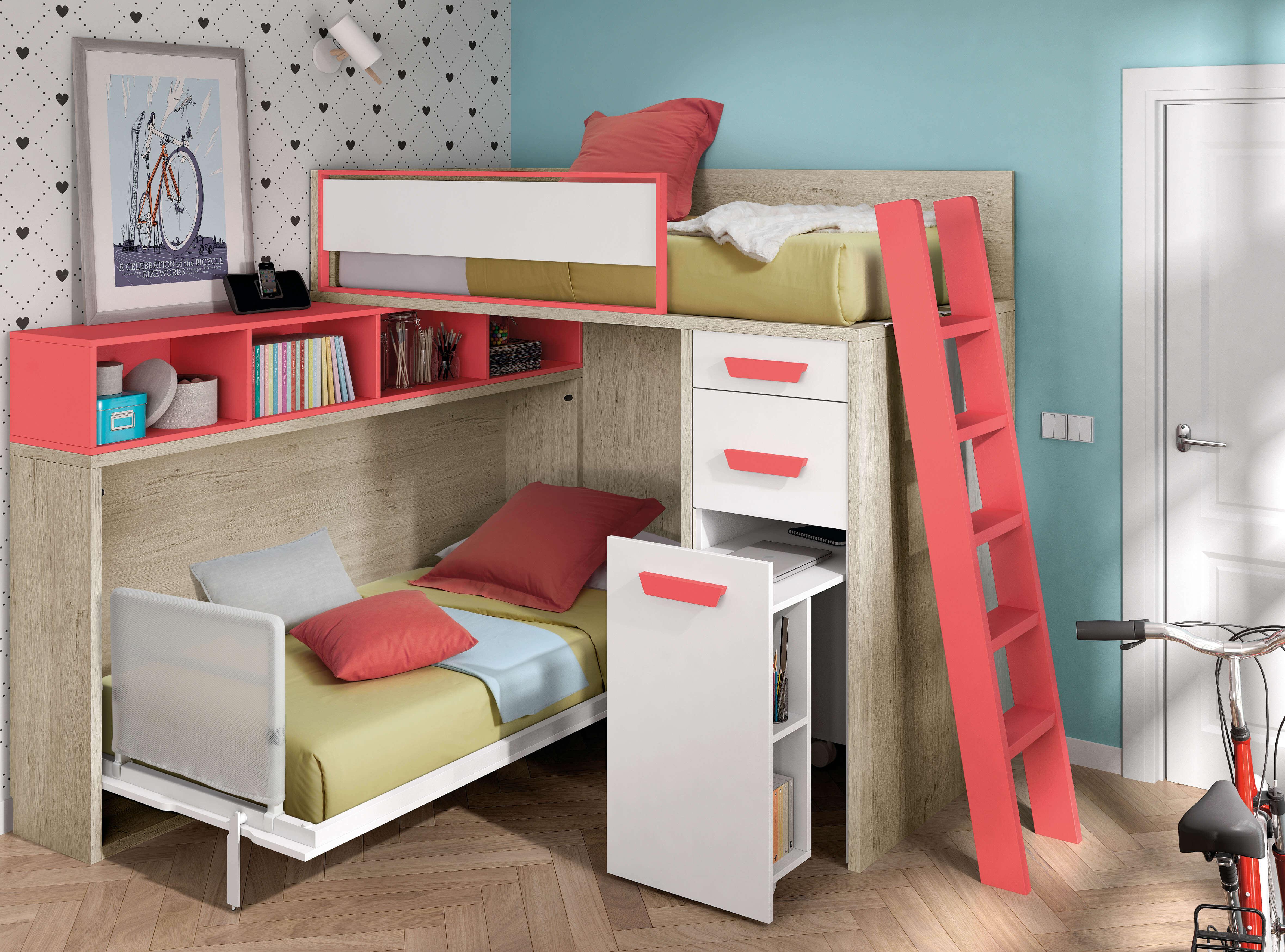 Camas abatibles horizontales cama plegable camas abatibles - Camas plegables horizontales ...
