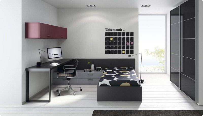 Muebles Juveniles Canape Abatible   Dormitorios Juveniles   Muebles Cela