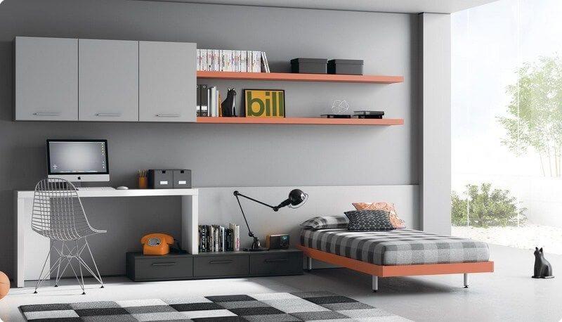 Muebles Juveniles Camas Individuales | Dormitorios Juveniles