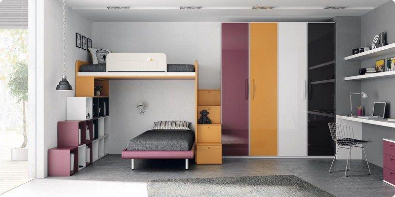 Muebles juveniles literas literas juveniles - Literas en angulo ...