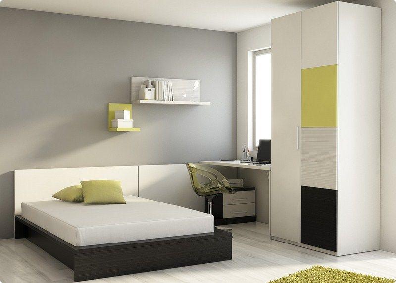 Habitaciones juveniles dormitorio juvenil camas abatible for Muebles dormitorio juvenil