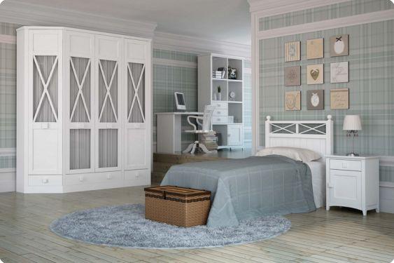 Habitaciones juveniles dormitorio juvenil camas abatible - Habitaciones de forja ...
