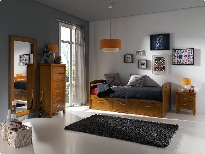 Mundo juvenil muebles gallery of conjunto muebles for Cama nido color haya