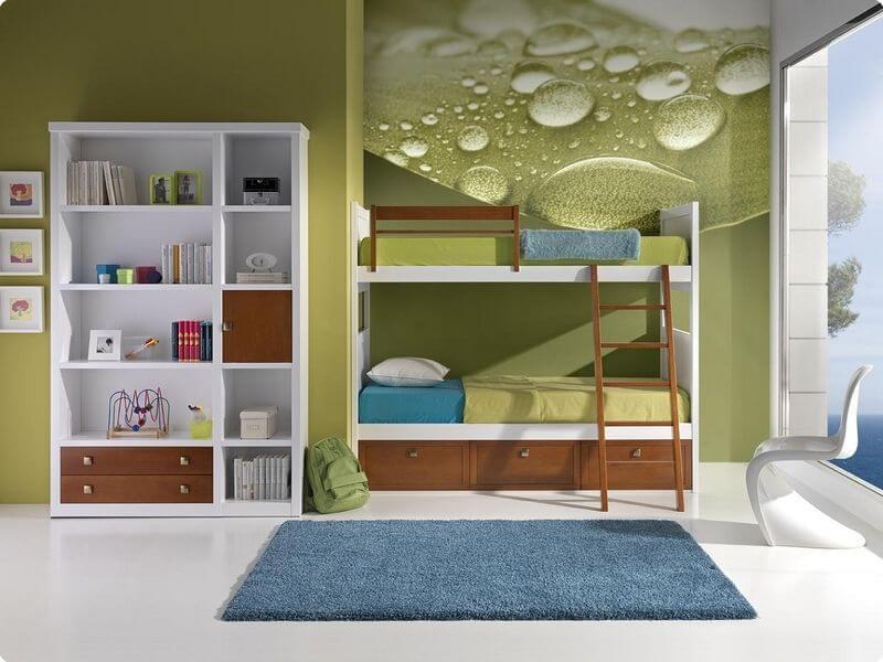 Litera juveniles pino macizo muebles juvenil habitaciones - Habitaciones juveniles literas ...