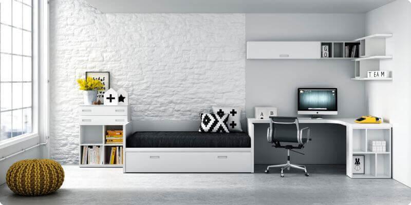 Muebles juveniles cama nido dormitorios juveniles cama - Muebles cama nido ...