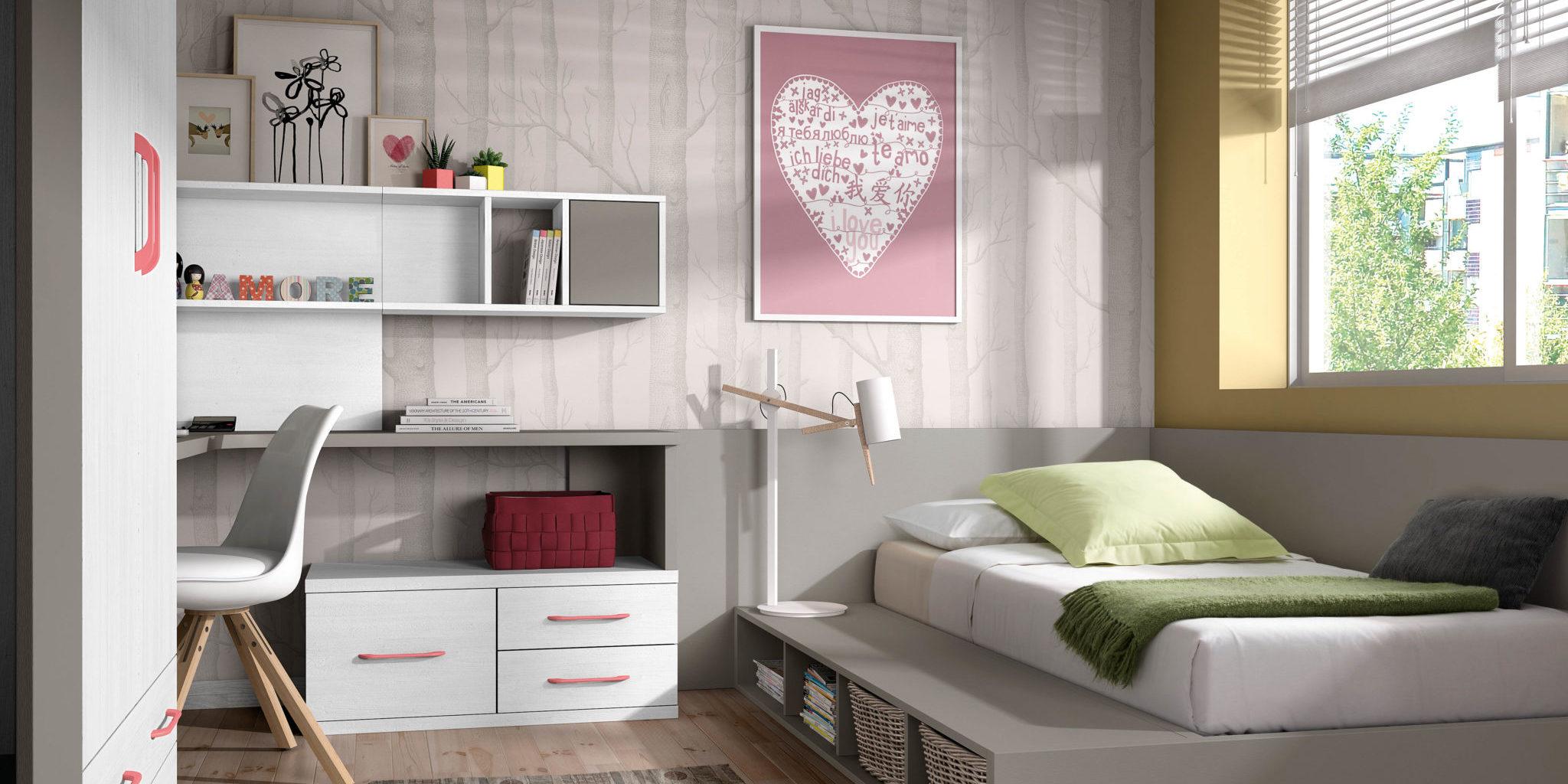 Montaje y dise o de una habitaci n juvenil - Diseno habitacion juvenil ...